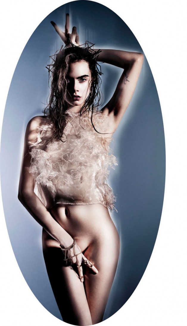 'Always & Forever' By Nick Knight For Garage Magazine #6 17