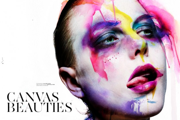 CANVAS BEAUTIES by WILLIAM LORDS for VEOIR