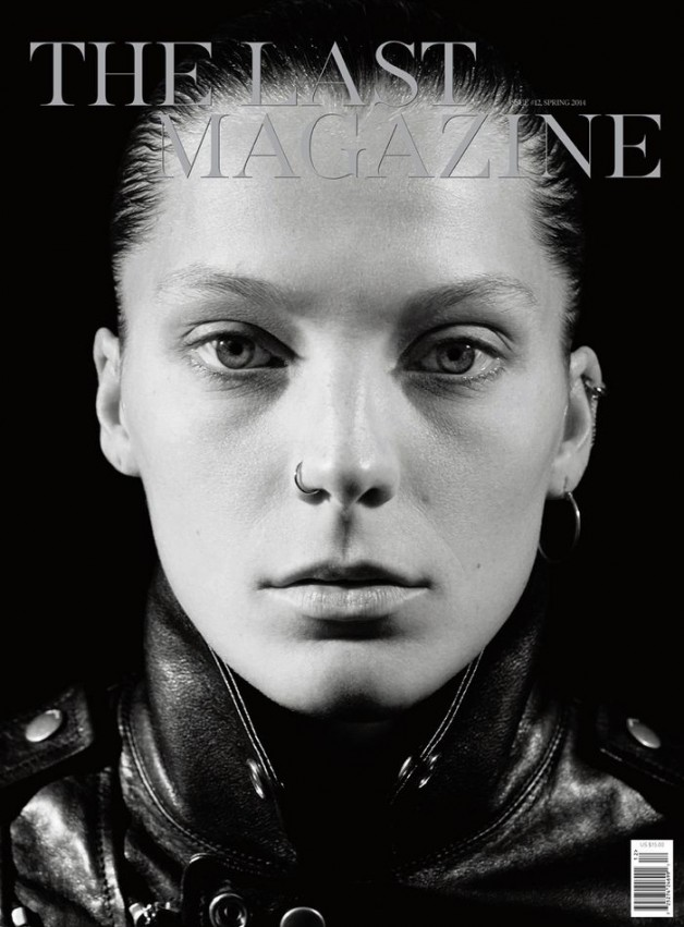 Daria Werbowy by Mikael Jansson for The Last Magazine Cover Spring 2014