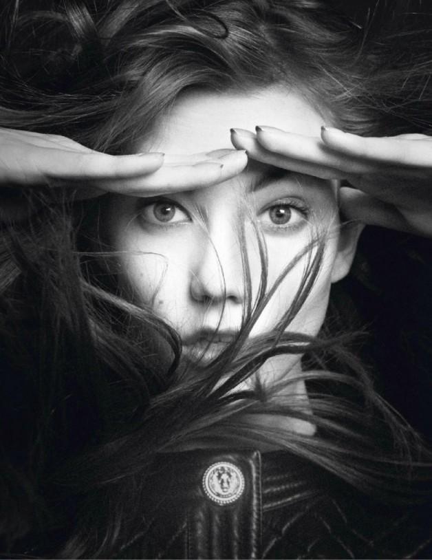 Karlie Kloss David Sims Vogue Paris