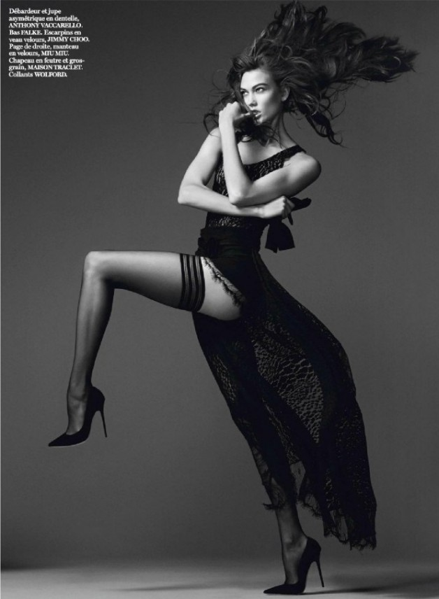 Karlie Kloss David Sims for Vogue Paris