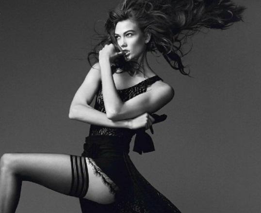 Karlie Kloss David Sims for Vogue Paris