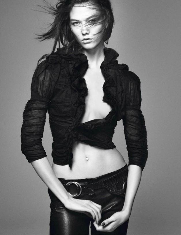 Karlie Kloss by David Sims
