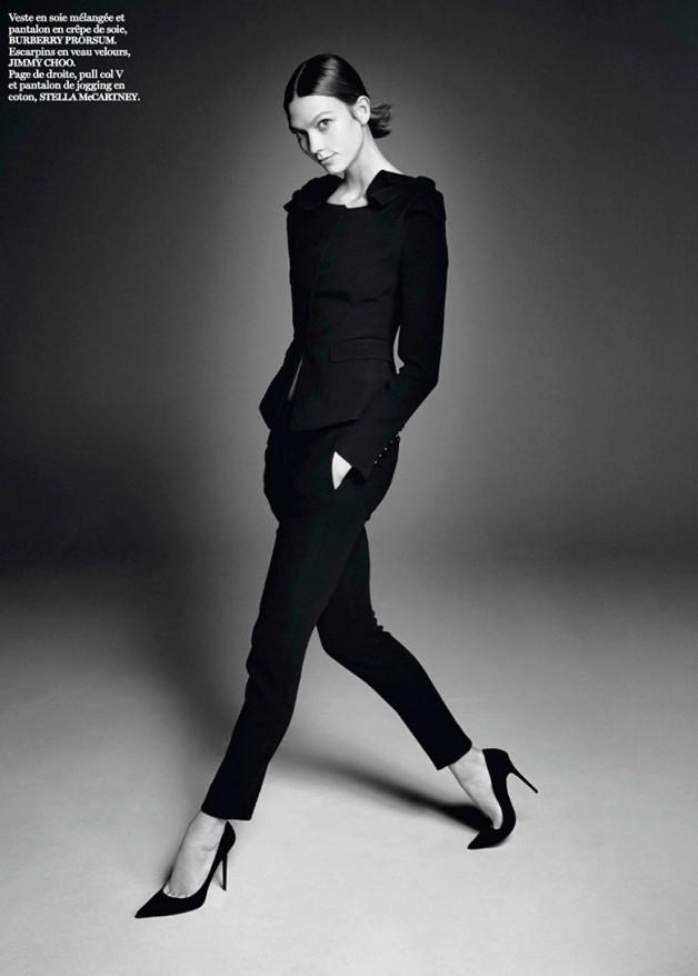 Karlie Kloss by David Sims for Vogue Paris 1