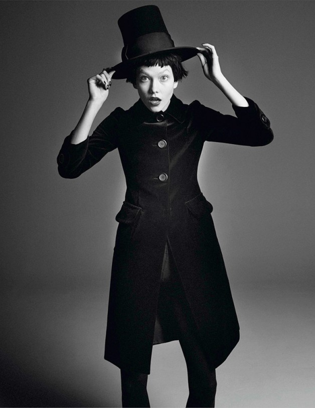 Karlie Kloss by David Sims for Vogue Paris 2