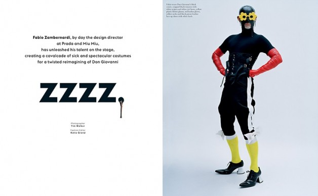 tim walker in 'zzzzz' love magazine
