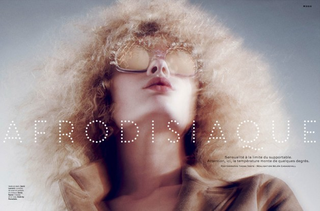 Afrodisiaque by Txema Yeste for Stylist France