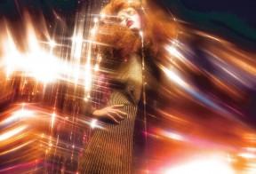Hollie-May Saker by Ruth Hogben (Metallic Blues - Dazed Spring 2014)