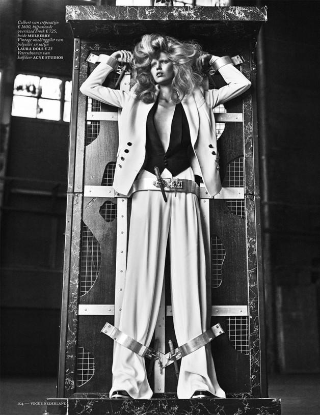 Ola Rudnicka for Vogue Netherlands 11