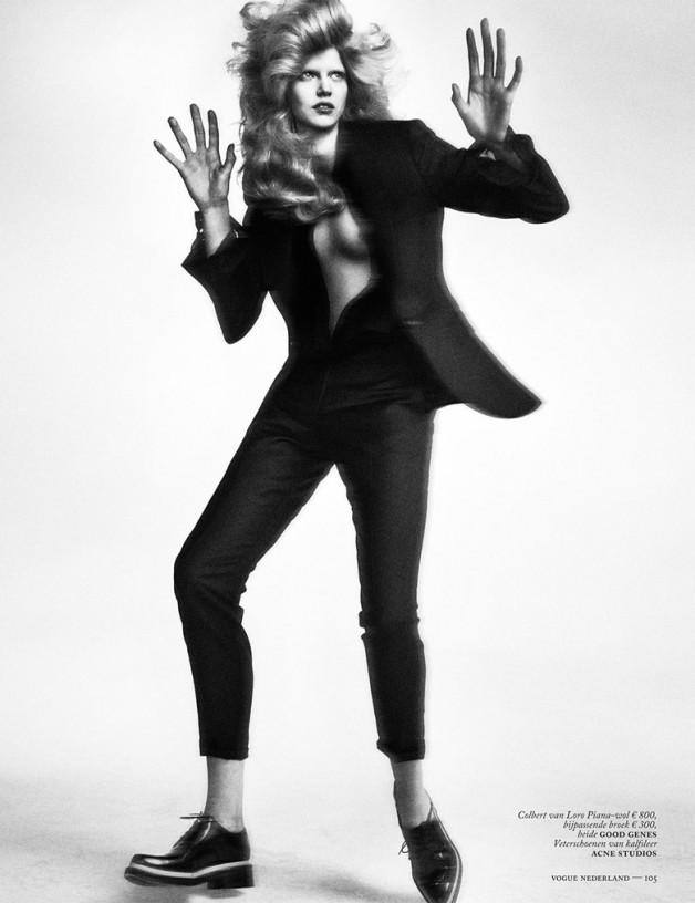 Ola Rudnicka for Vogue Netherlands 12