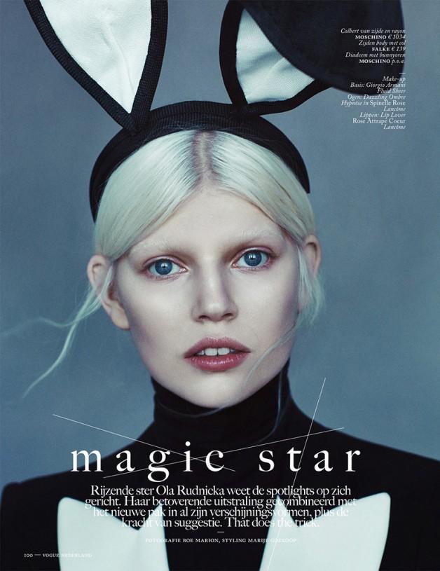 Ola Rudnicka for Vogue Netherlands 7