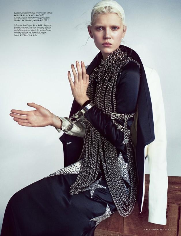 Ola Rudnicka for Vogue Netherlands 8