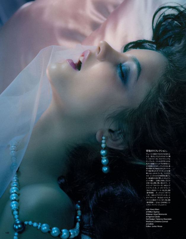 Barbara Palvin 'A Dreaming Lady' By Miles Aldridge For Vogue Japan 03