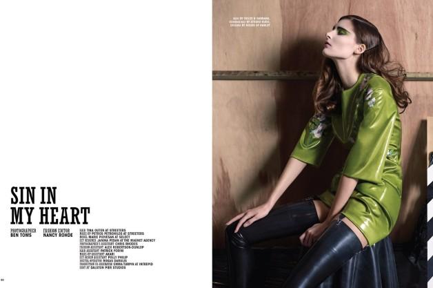 Ben Toms 'Sin in My Heart' 10 Magazine 5