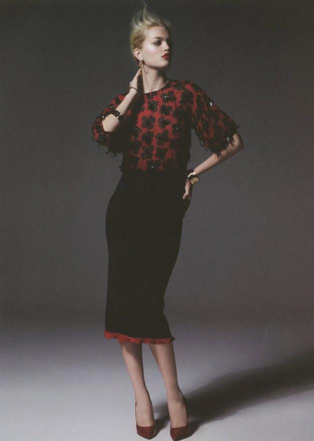 Daphne Groeneveld by Cuneyt Akeroglu for Antidote Magazine 8
