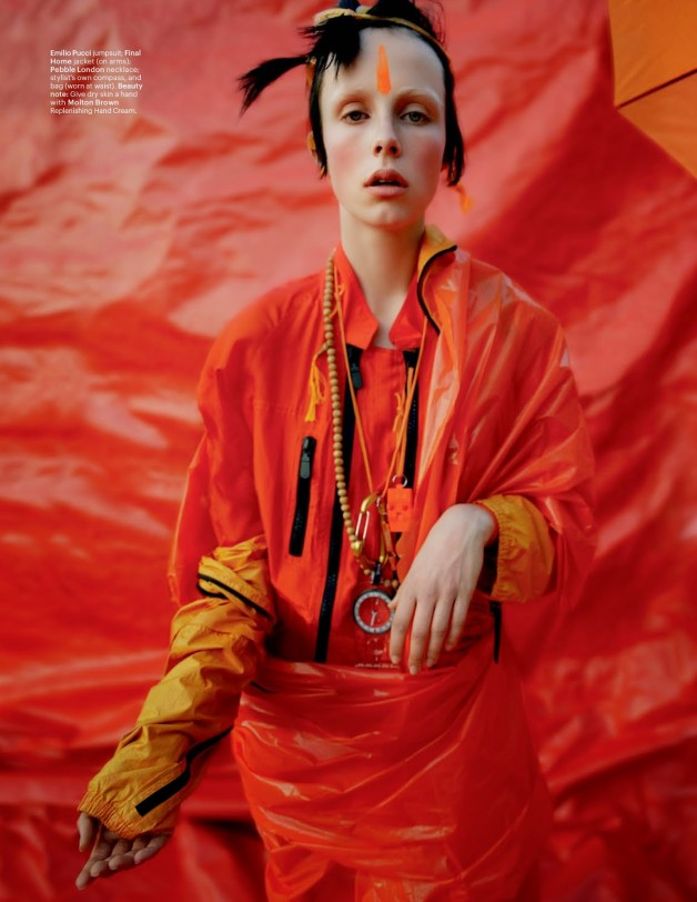 Edie Campbell in 'Gilt Trip' by Tim Walker W Magazine 26