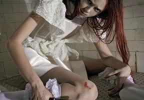 'Horror Movie' by Steven Meisel for Vogue Italia 8