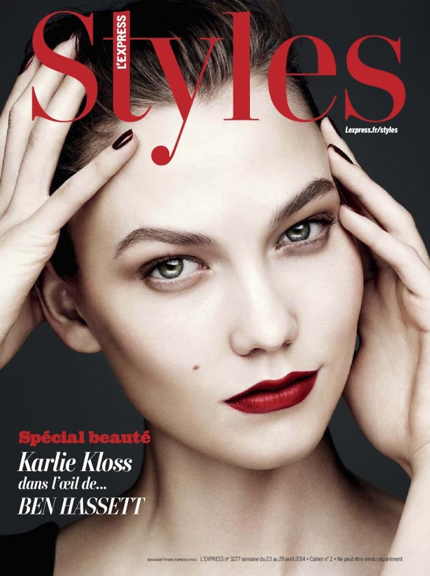 Karlie Kloss 'Color Power' By Ben Hassett For L'express Styles Cover