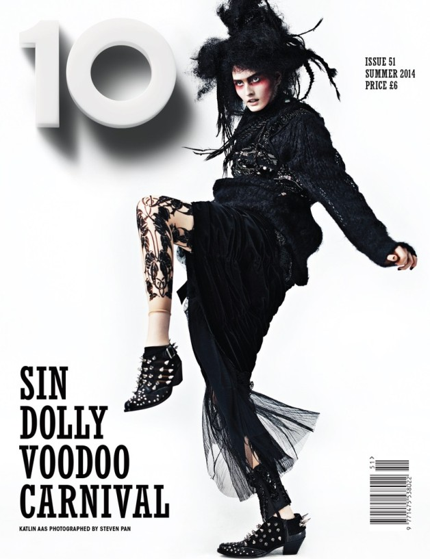 Katlin Aas By Steven Pan For 10 Magazine #51 Cover