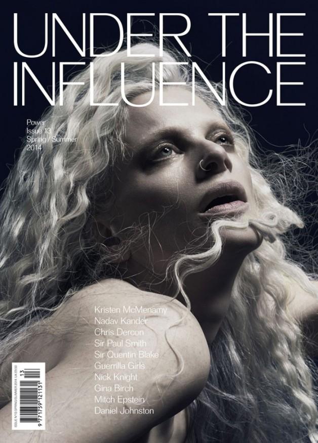 Kristen McMenamy in Under the Influence Magazine