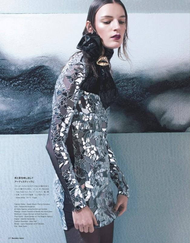 Laura Kampman 'Bright Future Now' Chad Pitman Numéro Tokyo 11