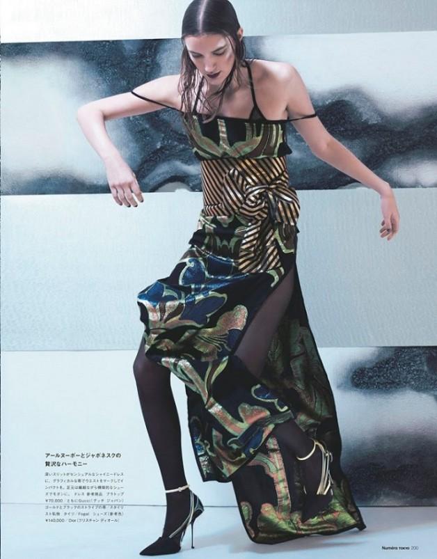 Laura Kampman 'Bright Future Now' Chad Pitman Numéro Tokyo 3