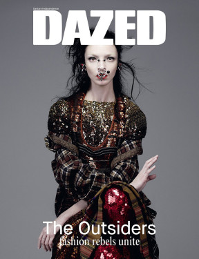 Mariacarla Boscono by Willy Vanderperre for Dazed & Confused Cover