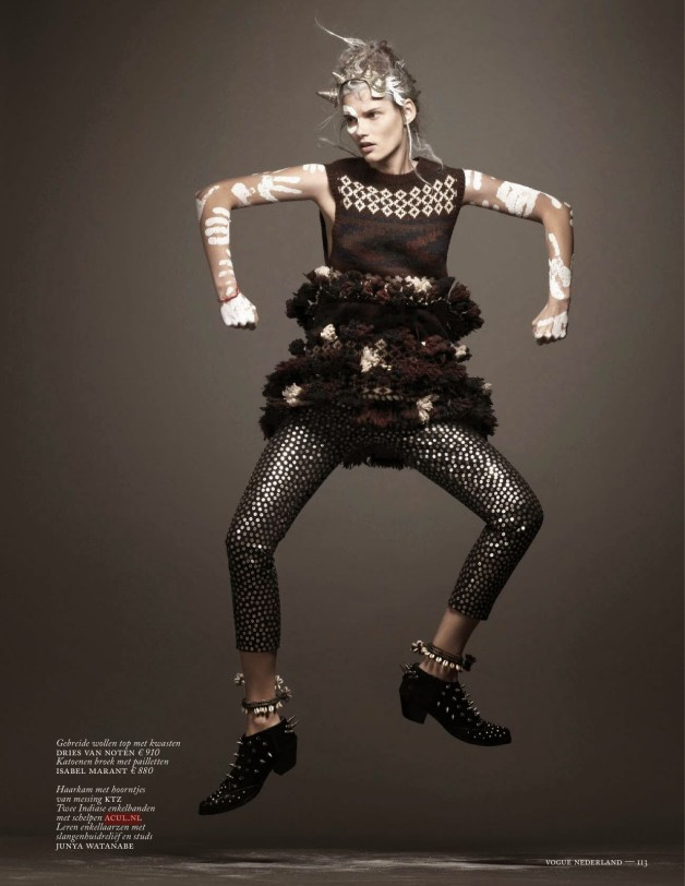 Voodoo Child by Ishi For Vogue Netherlands 10