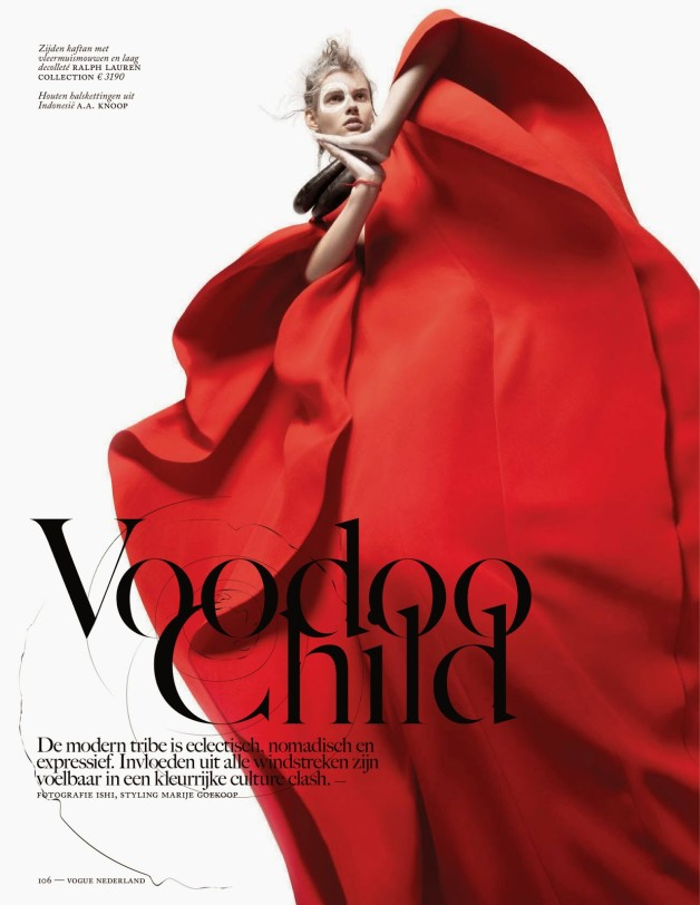 Voodoo Child by Ishi For Vogue Netherlands