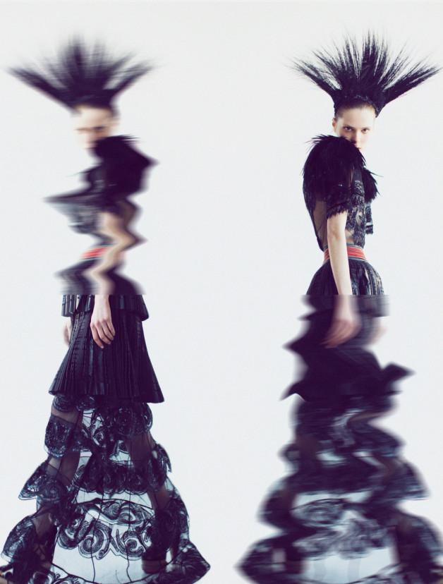 Caroline Brasch Nielsen By Oliver Stalmans For New York Magazine 1