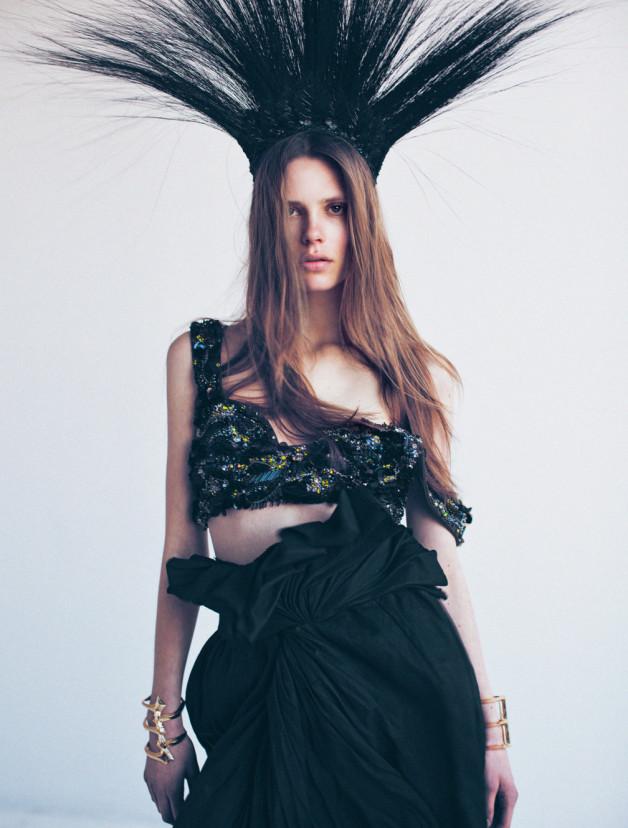 Caroline Brasch Nielsen By Oliver Stalmans For New York Magazine 5