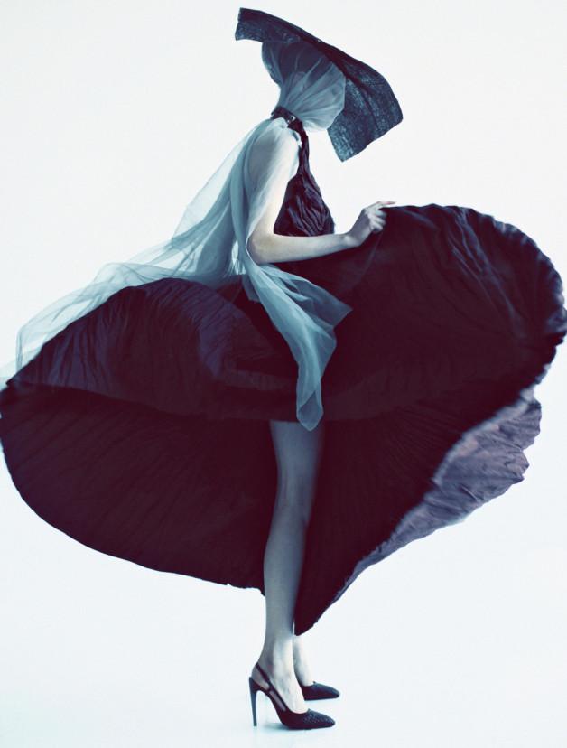 Caroline Brasch Nielsen By Oliver Stalmans For New York Magazine