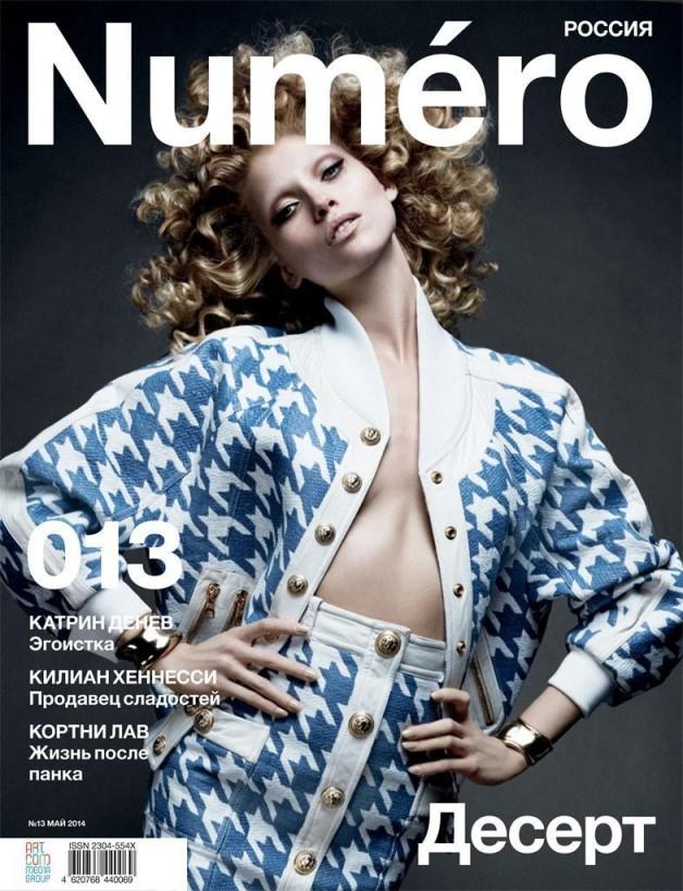 Hana Jirickova by David Roemer for Numero Russia 15 cover 2
