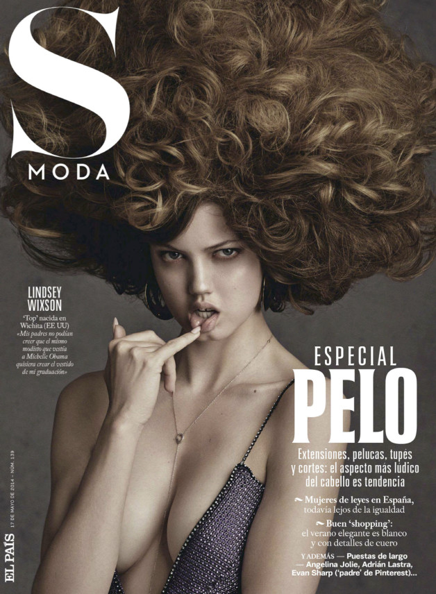 Lindsey Wixson By David Roemer For S Moda El Pais 17th 1