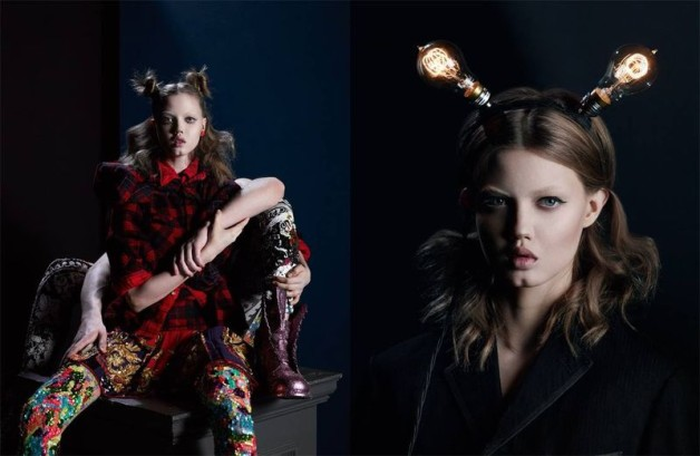 Lindsey Wixson by Matthew Stone for System No.34