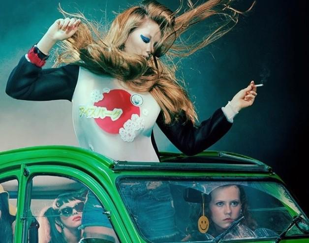 Miles Aldridge Beauty Vogue Italia 4