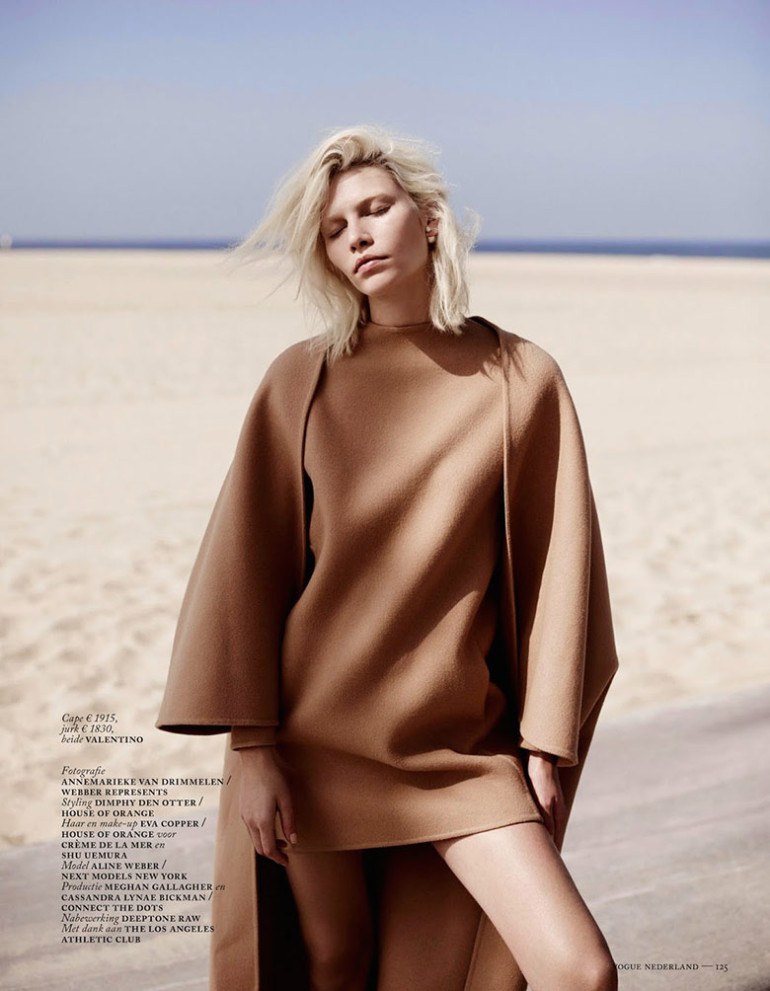 Aline Weber by Annemarieke Van Drimmelen for Vogue Netherlands 08