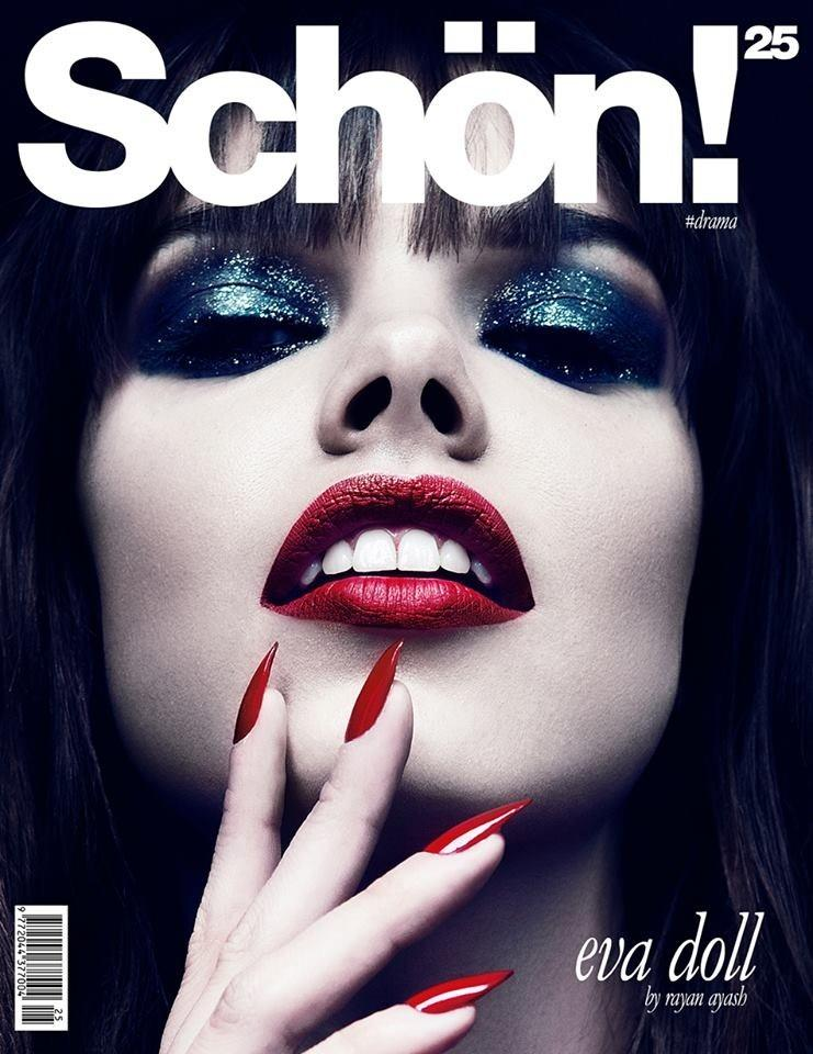 Eva Doll by Rayan Ayash for Schön Magazine Cover