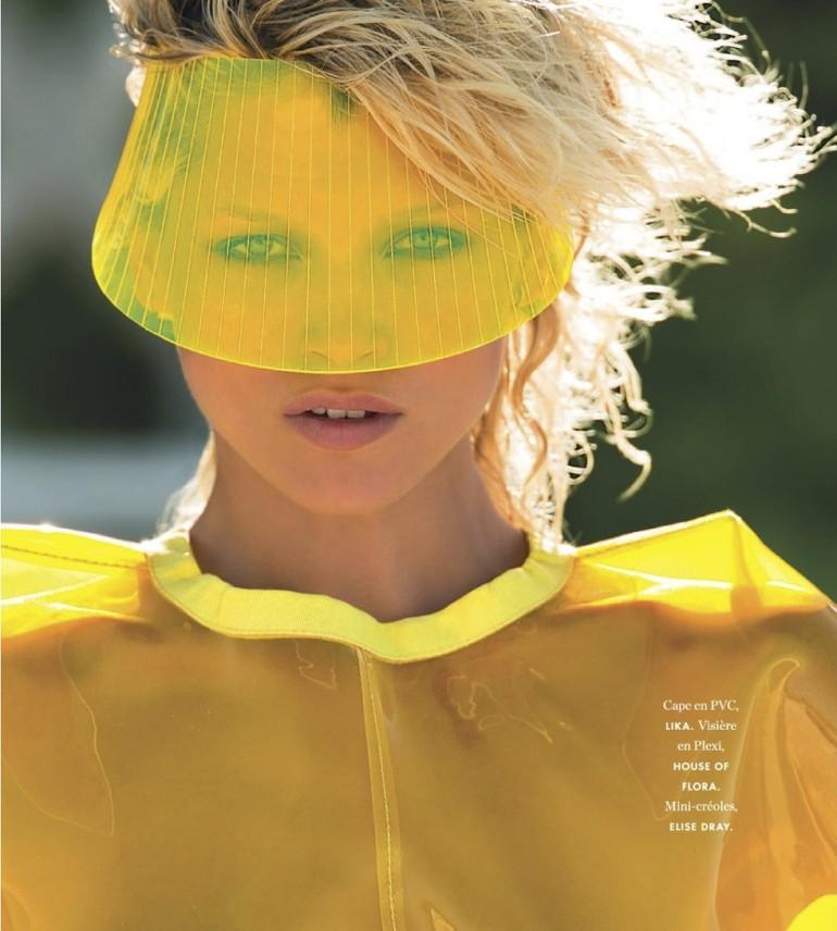 Hana Jirickova By Hans Feurer For Elle France 10