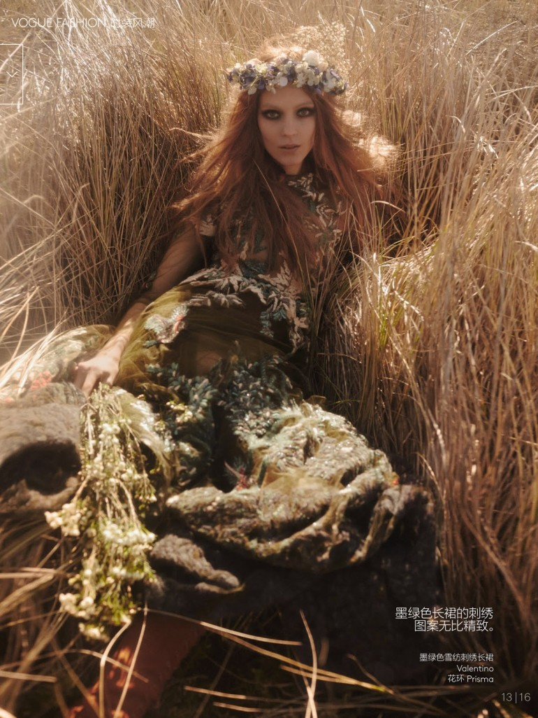 Kati Nescher And Natalie Westling By Mikael Jansson For Vogue China 14