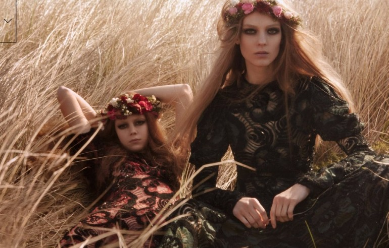 Kati Nescher And Natalie Westling By Mikael Jansson For Vogue China 16