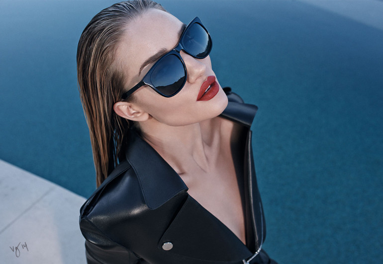 Rosie Huntington-Whiteley by Emma Summerton for Grey