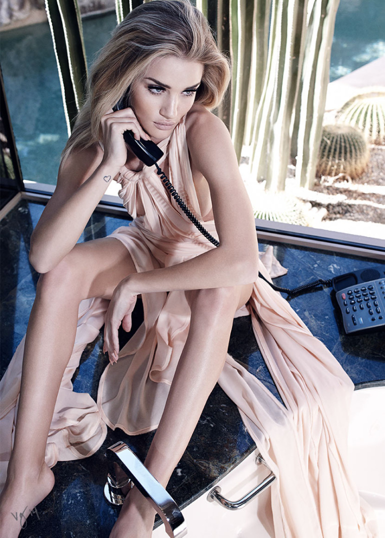 Rosie Huntington-Whiteley by Emma Summerton for Violet Grey Magazine 17