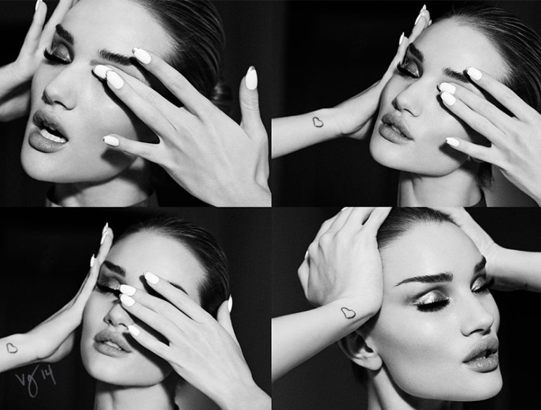 Rosie Huntington-Whiteley by Emma Summerton for Violet Grey Magazine 21