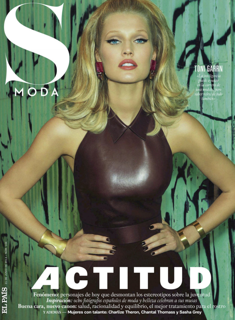 Toni Garrn By Henrique Gendre For S Moda El Pais Cover
