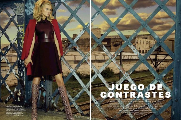 Toni Garrn By Henrique Gendre For S Moda El Pais1