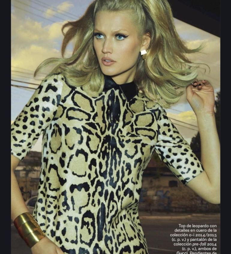 Toni Garrn By Henrique Gendre For S Moda El Pais10