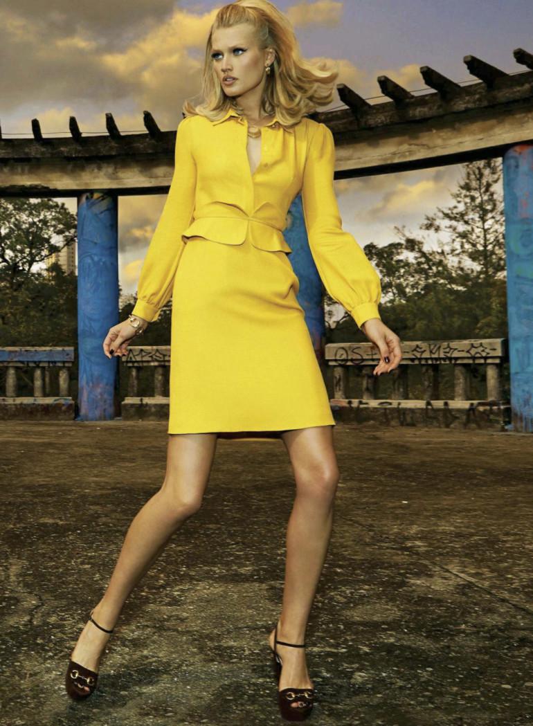Toni Garrn By Henrique Gendre For S Moda El Pais17