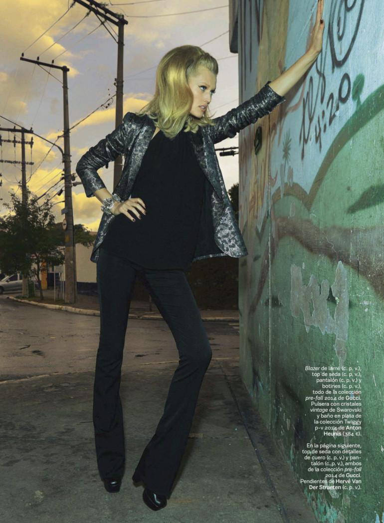 Toni Garrn By Henrique Gendre For S Moda El Pais3
