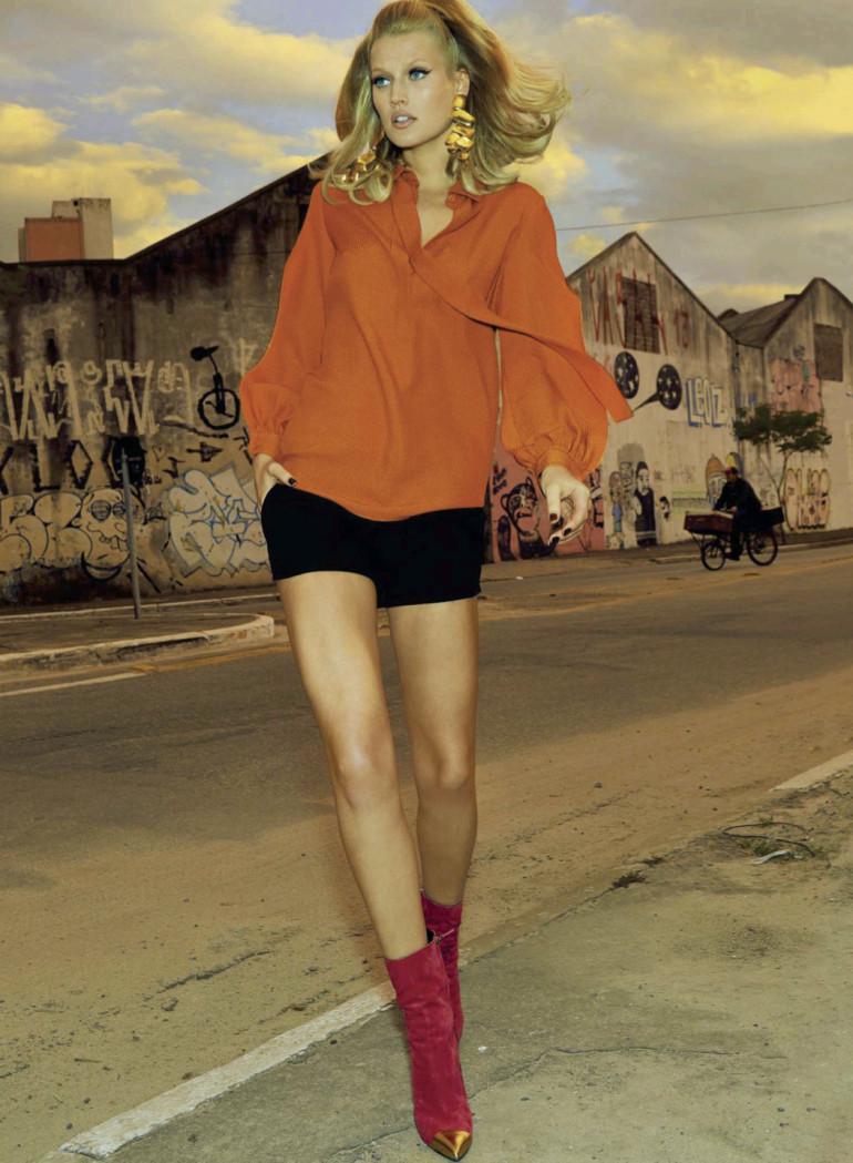 Toni Garrn By Henrique Gendre For S Moda El Pais8